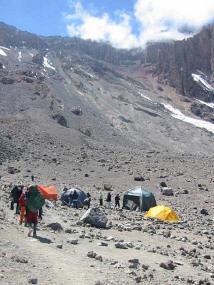Arrow Glacier and the Western Breach